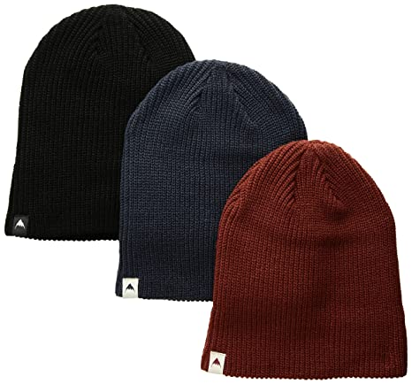 a74f3c196f3 Amazon.com  Burton Youth DND Beanie (Pack 3)