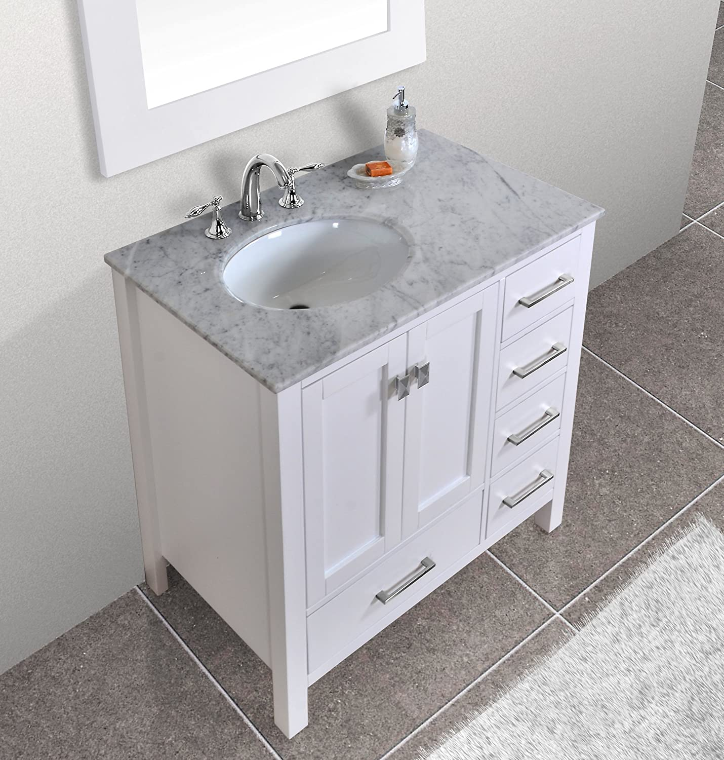 on your bathroom single stunning vanity grey white pin sink attractive floating remodeling for