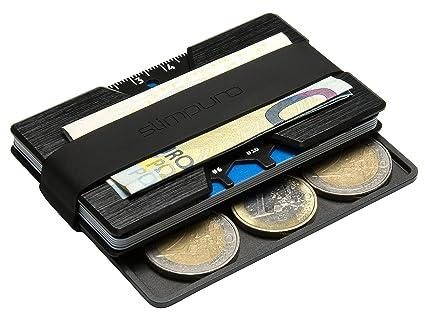 Porte Carte De Crédit En Aluminium Etui Pour Carte Bancaire Carte - Porte cartes sécurisé protection rfid nfc