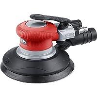 """Extol Premium de l'air comprimé ponceuse excentrique Orbite 150mm, vitesse 10500/min, raccord 1/4"""", 1pièce, rouge, 8865038"""