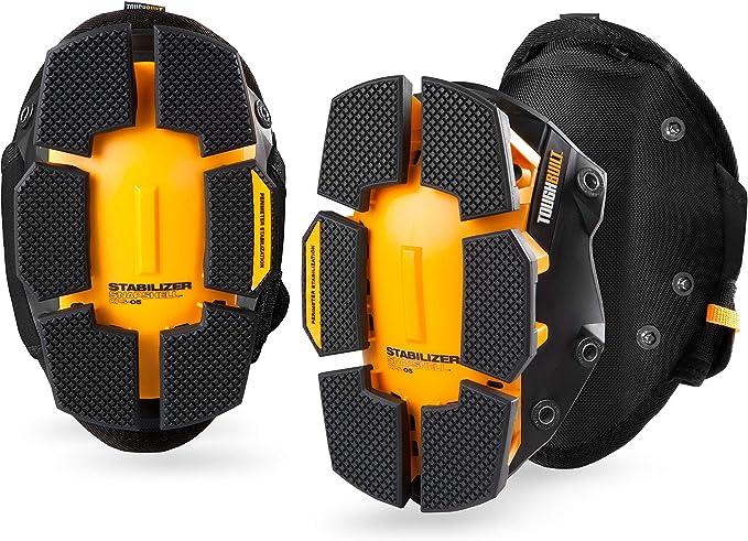 ToughBuilt - GelFit Stabilizer Professional Knee Pads - Comfortable Gel Cushion & Heavy Duty Foam Padding, Strong Adjustable Straps - (TB-KP-G205) - - Amazon.com