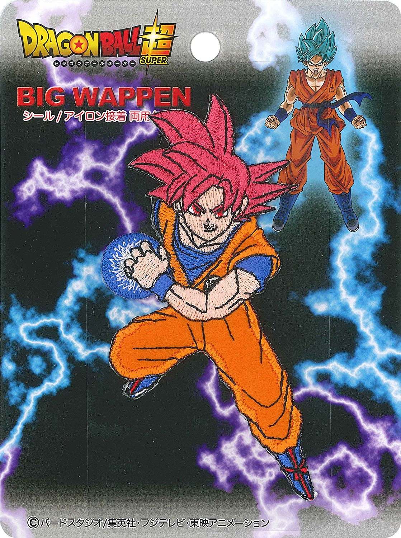 Inagaki ropa Dragon Ball sello grande estupendo emblema del ...