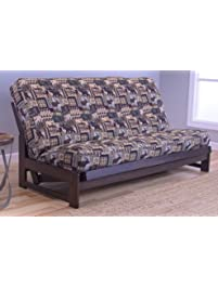 colorado reclaim mocha frame and mattress set w choice of fabrics 7 inch innerspring