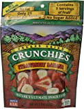 Crunchies Freeze-Dried Fruit Snack, Strawberry Banana, 1.5-Ounce Pouch
