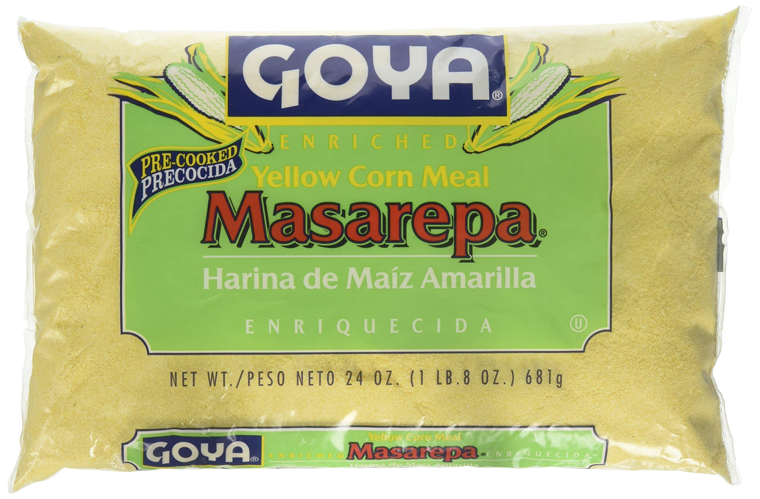 Goya Masarepa Yellow Corn Meal 24 oz