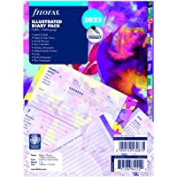 FILOFAX A5 Illustrated Diary Floral 1 week op 2 pagina's (meertalig) 2022