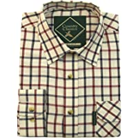 Country Classics Mens Long Sleeve Shirts Catterick Epsom and Fontwell Casual Stylish Check Flannel Outdoor Linen Winter Cotton Plaid Party