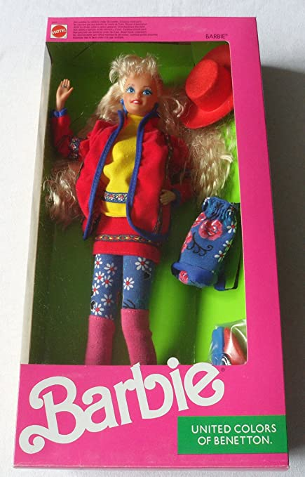 Amazon.com  Barbie United Colors of Benetton  Toys   Games 4ba6a932087