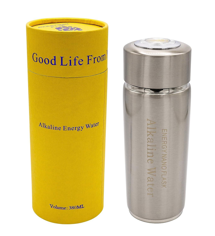 Portable Eau Alcaline Twin filtre Nano Énergie Ioniseur Flasque Santé Tasse/bouteille chi-enterprise