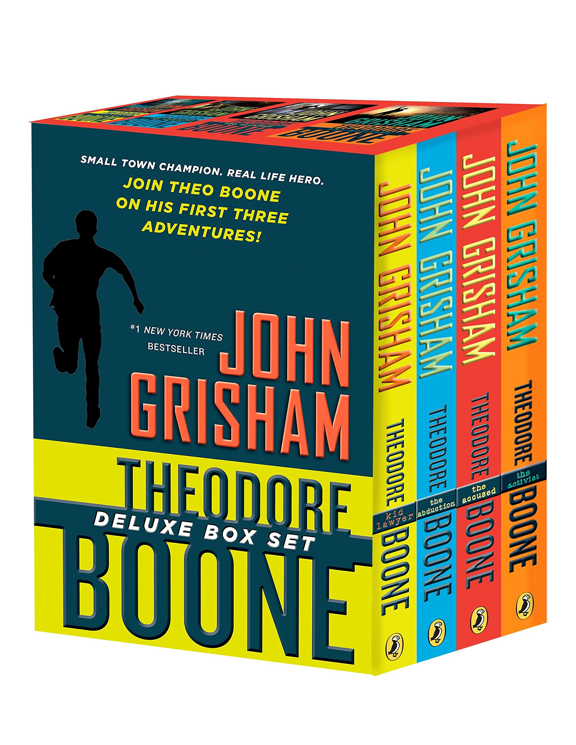 Theodore Boone Box Set (Kid Lawyer / The Abduction / The Accused / The Activist) pdf epub