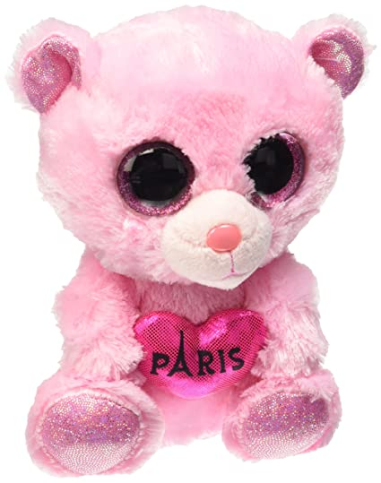 "Ty Beanie Boos Paris Multi-Colored 6"" France Exclusive"