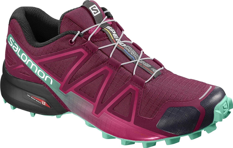 Rouge (Beet rouge Electric vert noir) Salomon Speedcross 4, Chaussures de Trail Femme 36 2 3 EU