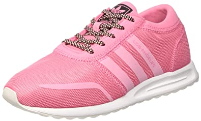 premium selection 758bb 8dcc3 adidas Damen Los Angeles Sneaker Dekollete Easy S17easy Pink S17ftwr  White,