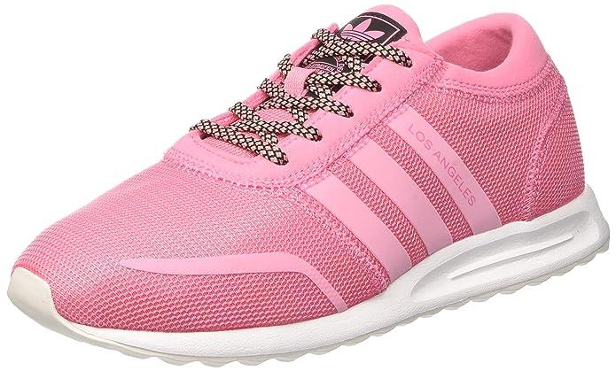 adidas Los Angeles Schuhe Dekollete für Damen Rosa / Pink