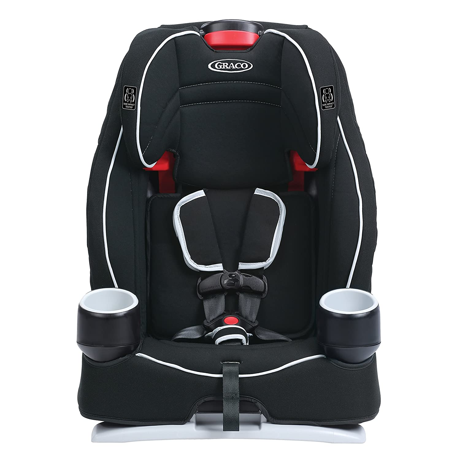 Buy Graco Atlas 65 2 In 1 Harness Booster Car Seat Glacier Online At Low Prices India