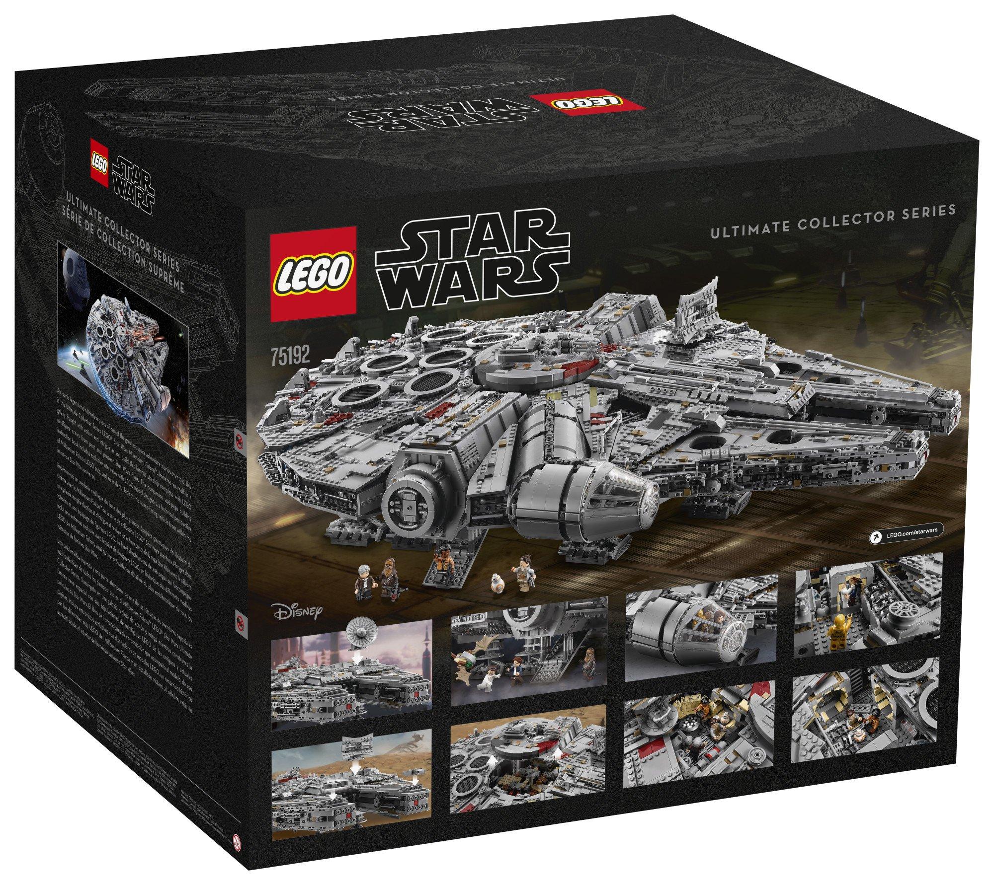 LEGO Star Wars Millennium Falcon 75192 Building Kit (7541 Piece) by LEGO (Image #5)