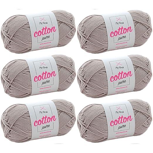 Baumwolle Garn Myoma Cotton Pure Bast Fb 0171 Baumwolle Zum