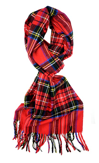 Super soft tartan plaid scarf