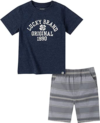 Amazon.com: Lucky Sets (KHQ) Boys' Short Set: Clothing