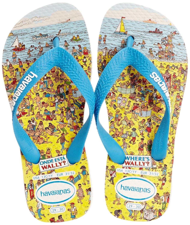 e6e199a2572542 Havaianas Boys  Wheres Wally Flip Flops  Amazon.co.uk  Shoes   Bags