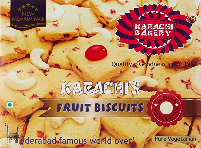 Karachi Bakery Fruit Biscuits, 400g