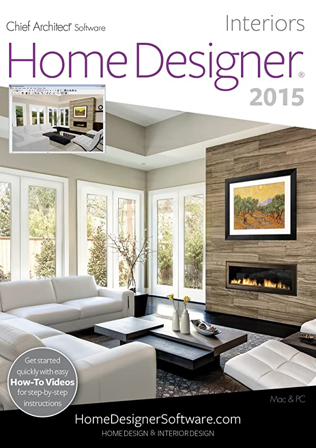 Amazon.com: Home Designer Interiors 2015 [Download]: Software