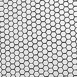 SomerTile FDXMHMW Retro Hex Porcelain Floor and