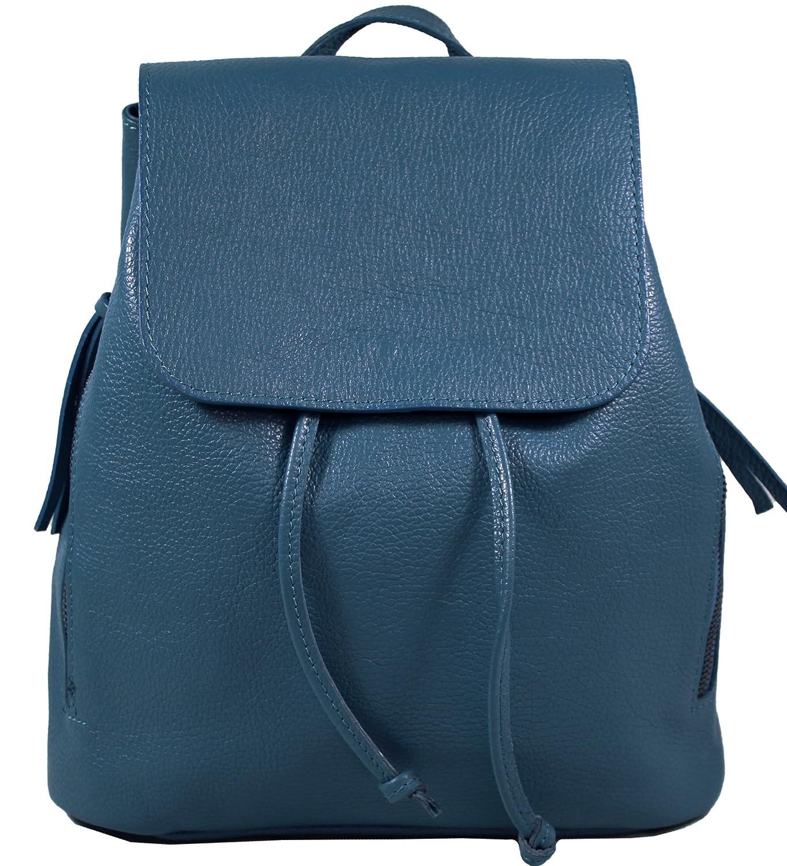 9d96a852150e2 Echtleder Damen Rucksack Leichter Tagesrucksack Daypack Lederrucksack  Damenrucksack Versch. Farben erhältlich(Beige) FFruckim2