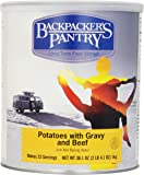 Backpacker's Pantry Mashed Potatoes and Gravy with Beef, 36.1 Ounce, #10 Can