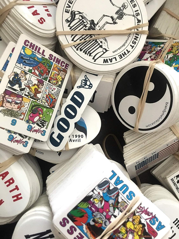 50 Random Brandy Melville Stickers Bundle Lot Computer Vinyl Decor