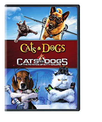 Amazon.com Cats \u0026 Dogs 1\u00262 pk (dvd) Various Movies \u0026 TV