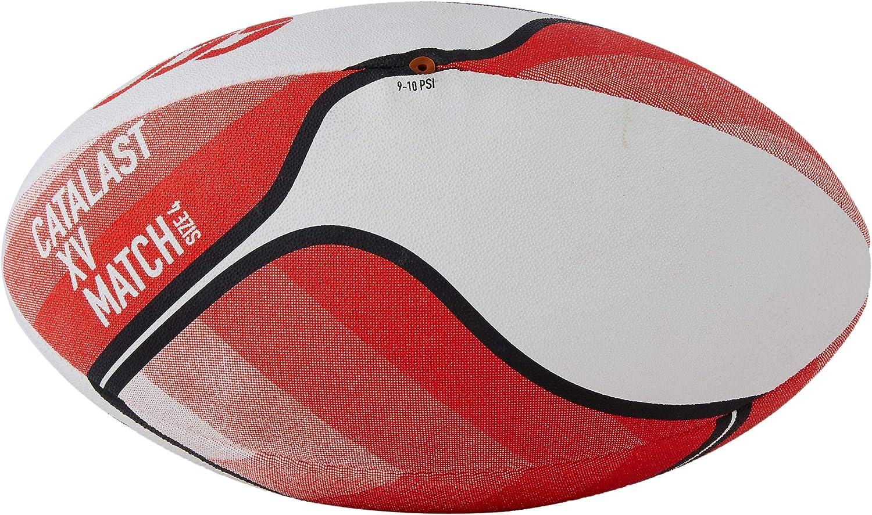 Canterbury Catalast-XV Ballon de Match Mixte Adulte 4 Rouge