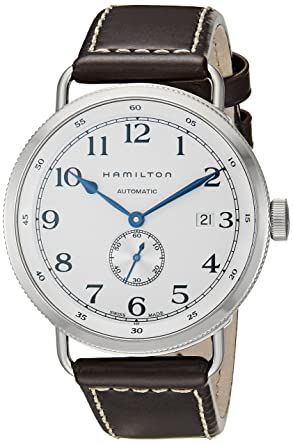 4cad80c9143 Amazon.com  Hamilton Khaki Navy Pioneer Men s Watch H78465553 ...