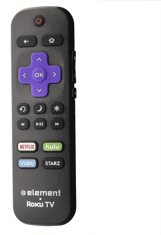 Amazon Com Element Roku 101018e0011 Smart Ultra Hd Tv Remote Netflix Hulu Vudu E4sw5017rku E2sw6518rku E4sw5518rku Home Audio Theater