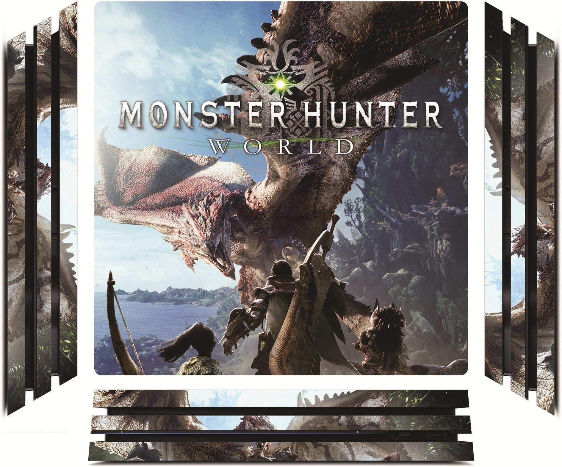 Amazon com: Monster Hunter World MHW Game Skin for Sony