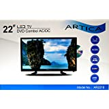 ARTICA AR2218 22'' inch Led TV with DVD player HD Combo Digital Analog AC/DC 12V