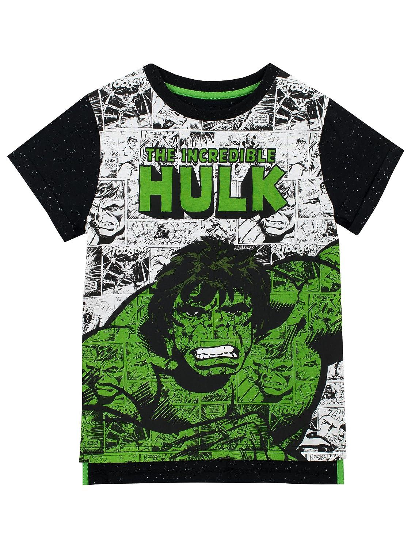 Marvel Jungen der Unglaubliche Hulk T-Shirt