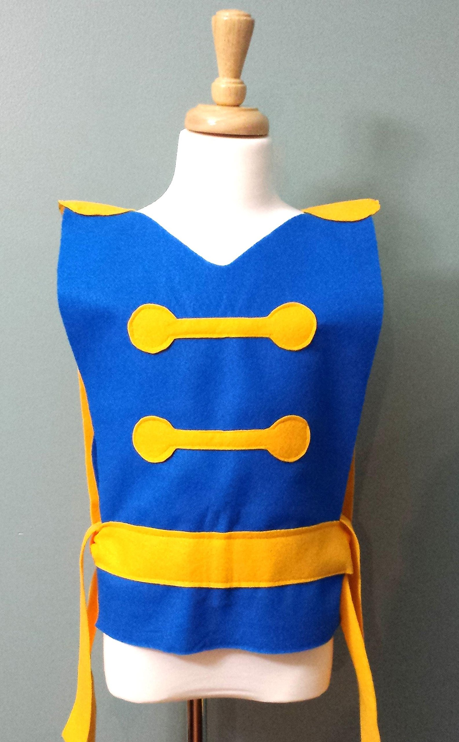 Kids Beast Costume Tunic (Belle's Prince/Beauty and the Beast/Prince Adam)- Baby/Toddler/Kids/Teen/Adult Sizes