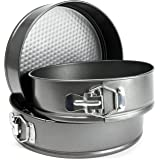 Andrew James Set of 3 Non-Stick Spring Form Cake Tins Set