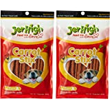 Jer High Carrot Stix Dog Treats, 100g (Pack of 2)
