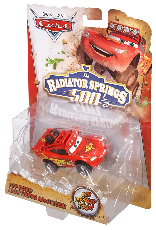 Cars 2 - Vehículos todoterreno McQueen (Mattel BDF63): Amazon.es: Juguetes y juegos