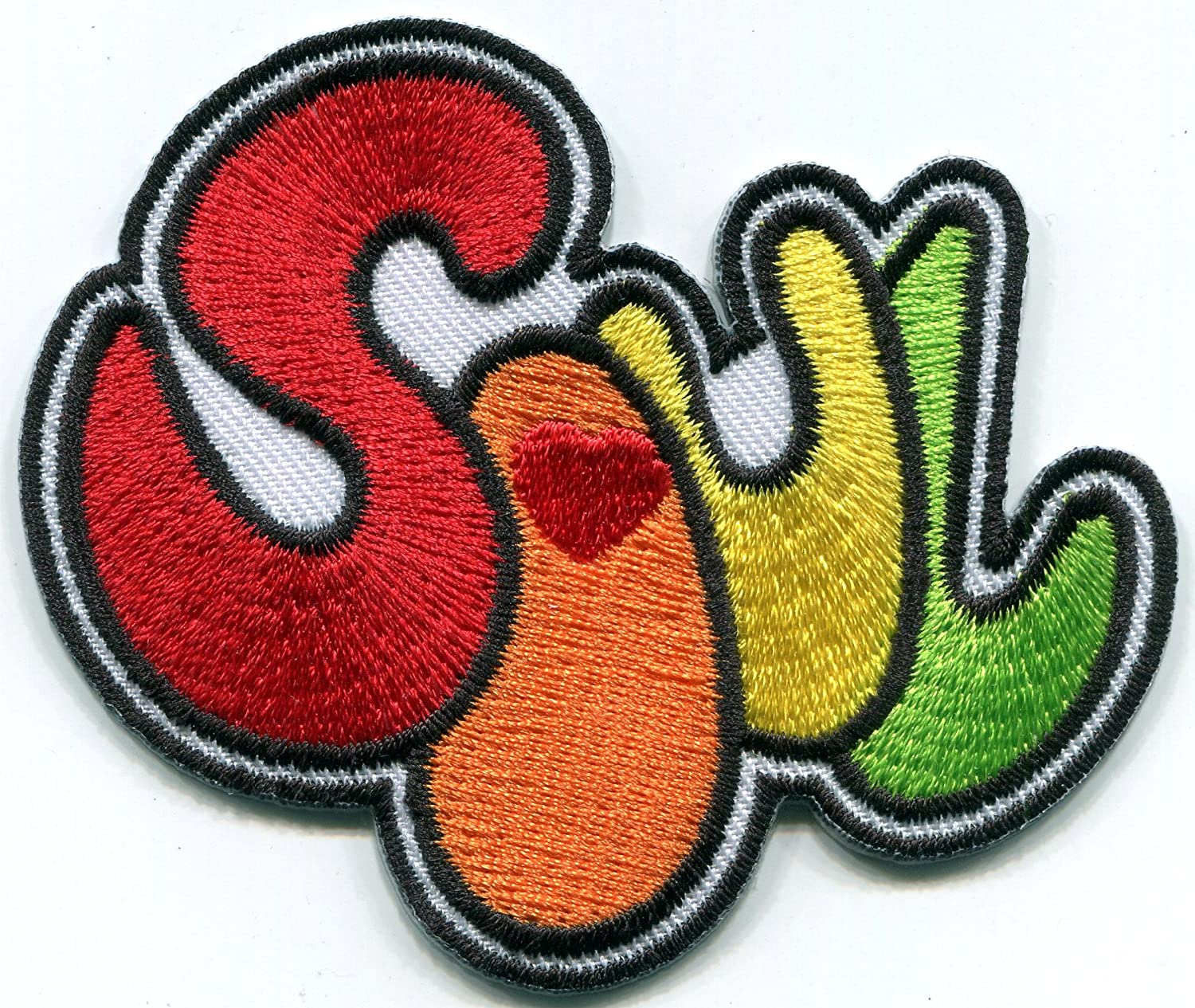 record music patch sew on embroidered applique fabric patches  for clothes DP