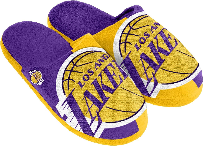FOCO NBA Unisex Split Color Slide Slipper