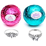 Amazon Price History for:Mermaid Love Potion Bath Bombs Gift Set of 2 with Ring Surprise Inside Each Made in USA