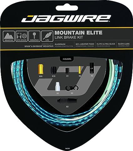 Jagwire Pro Brake Cable Kit Road SRAM//Shimano Ice Gray