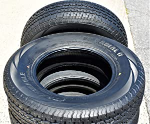Set of 2 (TWO) Transeagle ST Steel Belted Premium Trailer Radial Tires-ST235/80R16 124/120L LRE 10-Ply