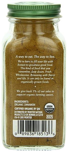 a52434b5ba Amazon.com   Simply Organic Cinnamon Ground Certified Organic