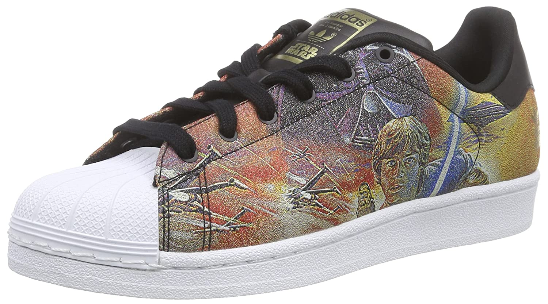 Adidas OriginalsSuperstar Star Wars - Scarpe da Ginnastica Basse Unisex - Bambini, Mehrfarbig (Core Black/Core Black/Ftwr White), 35.5: Amazon.it: Scarpe e ...
