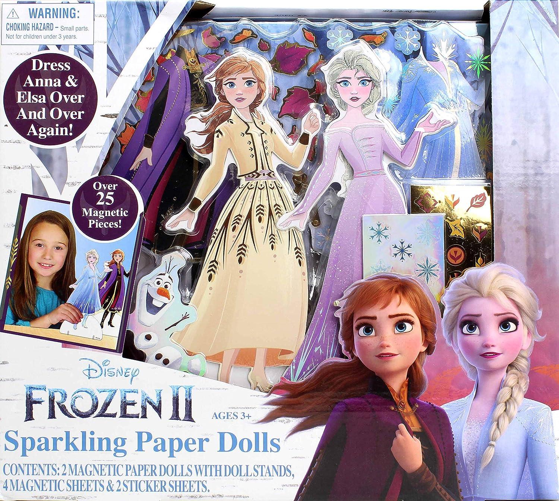 Frozen 2 Sparkling Paper Dolls