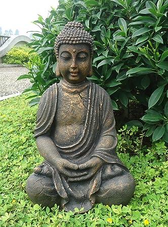 best buddha figuren garten contemporary. Black Bedroom Furniture Sets. Home Design Ideas